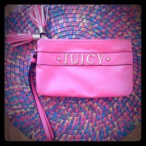 Juicy Couturefringe wristlet